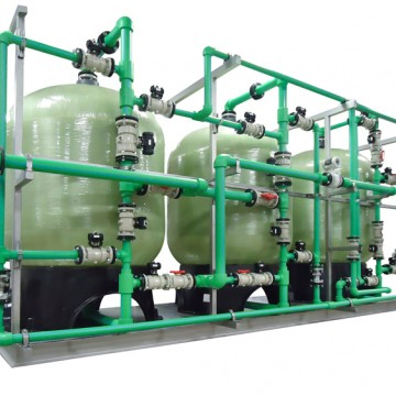 Custom Industrial water softener
