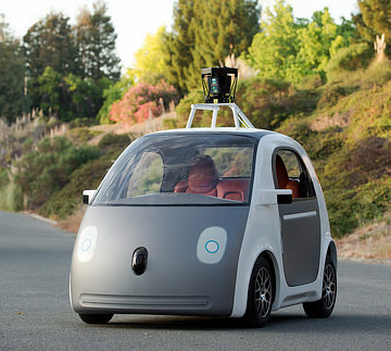 Pictured: Google's barf-mobile.