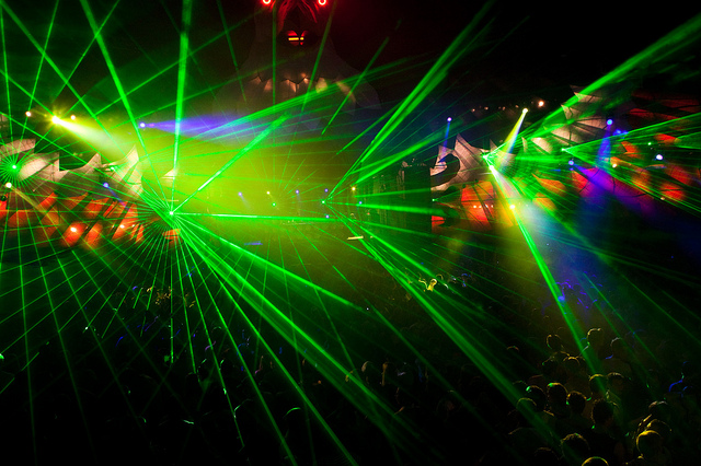Sidel's technology is also a viable solution for totally sweet Laser Pink Floyd shows.
