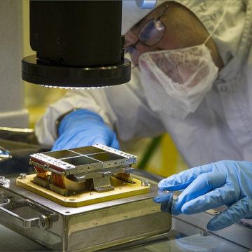 Cleanroom manufacturing at NASA.